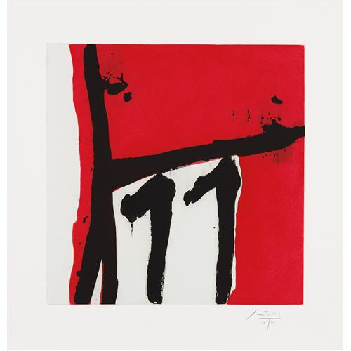 ROBERT MOTHERWELL - Mexican Night II, 1984