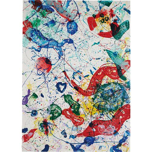 SAM FRANCIS - Untitled, 1986