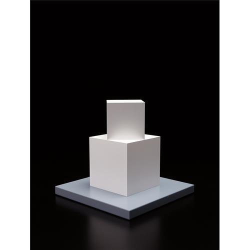 SOL LEWITT - Cube on a Cube, 2005