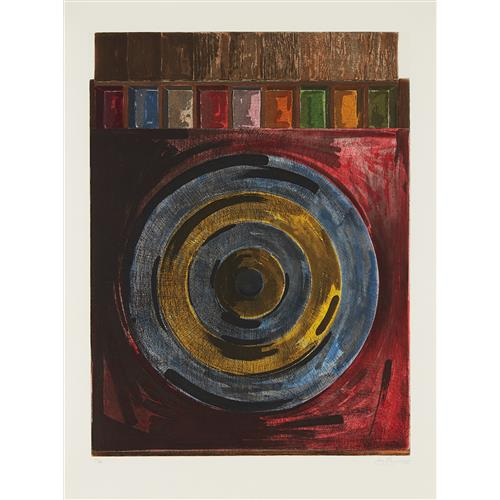 JASPER JOHNS - Target with Plaster Casts, 1979-80