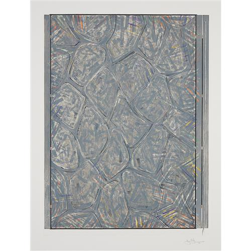 JASPER JOHNS - Within, 2007