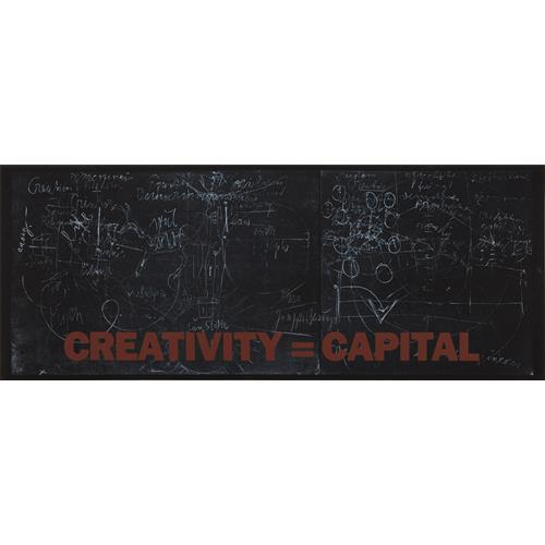 JOSEPH BEUYS - New York Subway Poster (Creativity=Capital), 1983