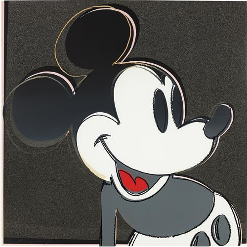 ANDY WARHOL - Mickey Mouse, from Myths, 1981