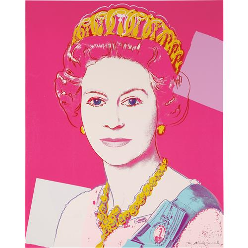 ANDY WARHOL - Queen Elizabeth II of the United Kingdom, from Reigning Queens, 1985
