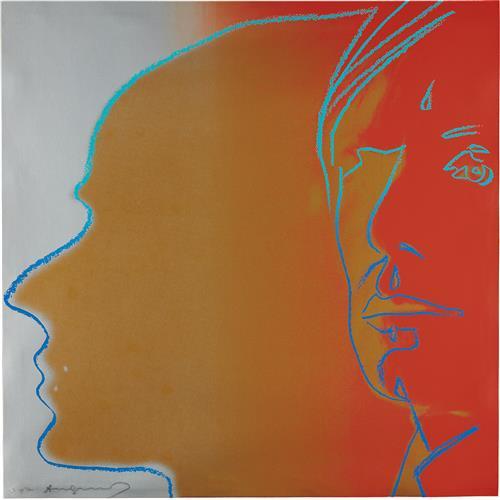 ANDY WARHOL - The Shadow, 1981