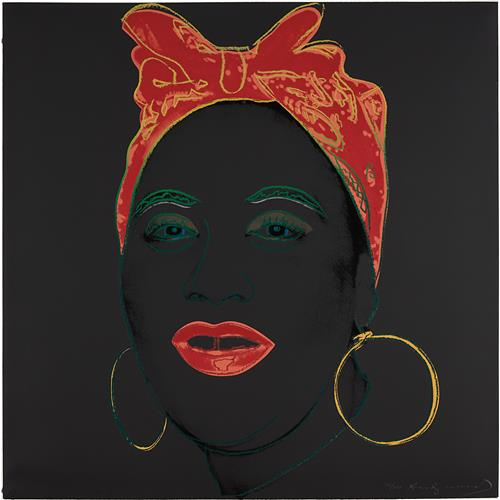 ANDY WARHOL - Mammy, from Myths, 1981