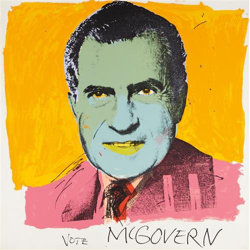 ANDY WARHOL - Vote McGovern, 1972