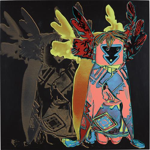 ANDY WARHOL - Kachina Doll, from Cowboys and Indians, 1986