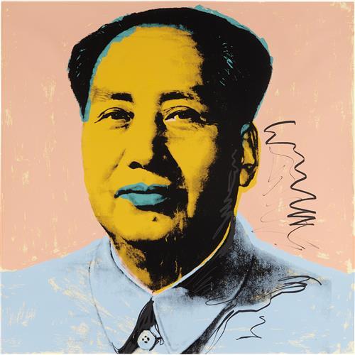 ANDY WARHOL - Mao, 1972