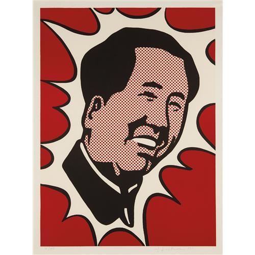 ROY LICHTENSTEIN - Mao, 1971