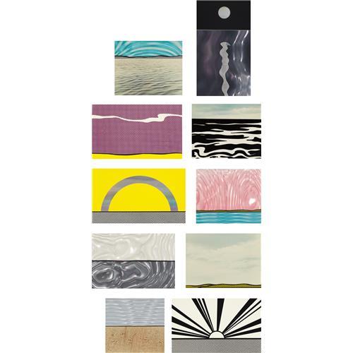 ROY LICHTENSTEIN - Ten Landscapes, 1967