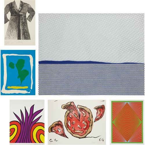 VARIOUS ARTISTS - New York 10 Portfolio, 1965