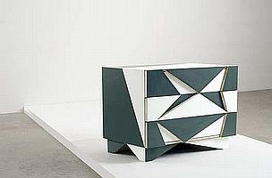 MARTINO GAMPER Unique chest of drawers, from the