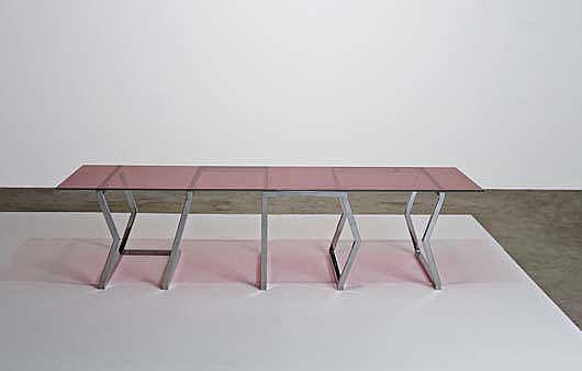 JOHANNA GRAWUNDER Prototype 'Line' table, from the