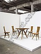 Dining suite, from the Pavia Restaurant, Cervinia, ca. 1954, Carlo Mollino, Click for value