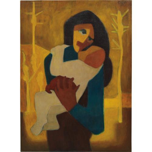 TILSA TSUCHIYA - Maternidad, 1953-1955