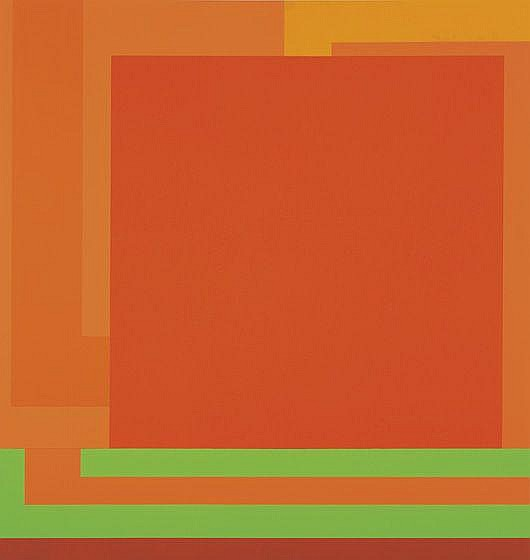 PETER HALLEY Todd, 1991 Day-glo paint, acrylic and