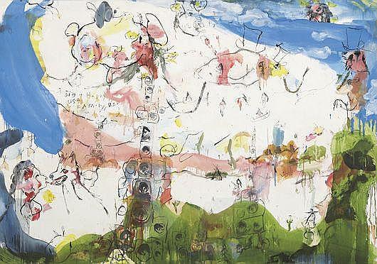 Contemporary Art: BRAD KAHLHAMER Big Happy Family