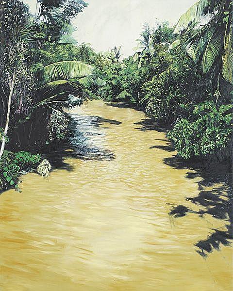 Contemporary Art: MICHAEL ASHCROFT Jungle River,