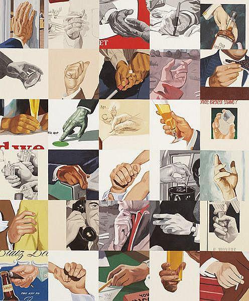 Contemporary Art: JULIA JACQUETTE Men's Hands