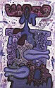 CARROLL DUNHAM Untitled (Purple), 1993-1994, Carroll Dunham, Click for value