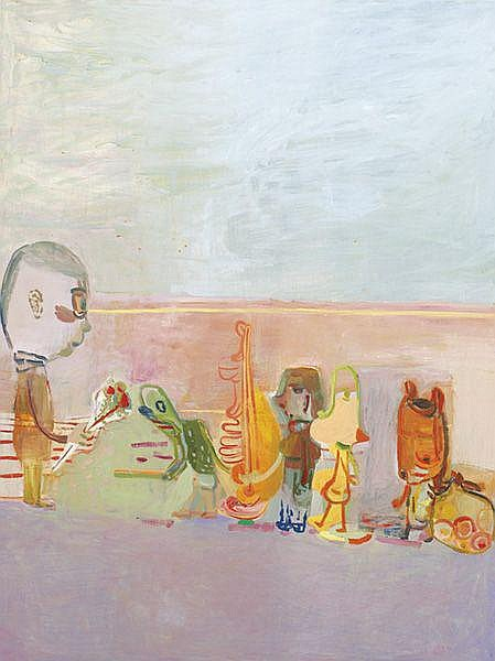 AMY SILLMAN Suitors, 2001