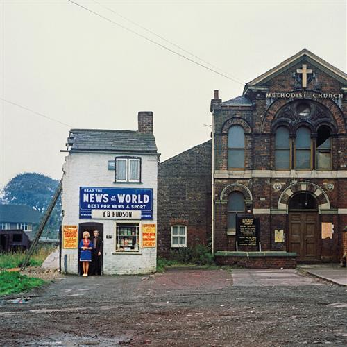 PETER MITCHELL - Mr and Mrs Hudson, Newsagents, Seacroft, Leeds, 1974