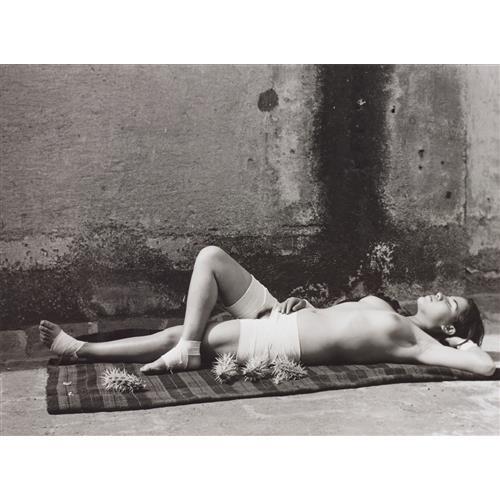 MANUEL ÁLVAREZ BRAVO - La Buena Fama Durmiendo (Good Reputation, Sleeping), 1938