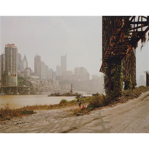 NADAV KANDER - Chongqing II, Chongqing Municipality from Yangtze, The Long River, 2006