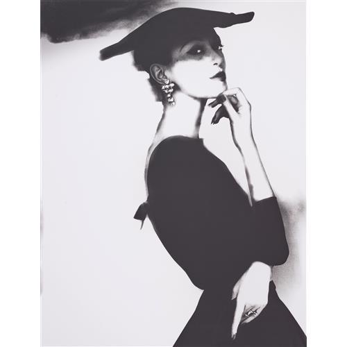 LILLIAN BASSMAN - Barbara Mullen, New York, Harper's Bazaar, circa 1958