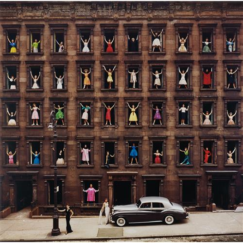 ORMOND GIGLI - Girls in the Windows, New York City, 1960