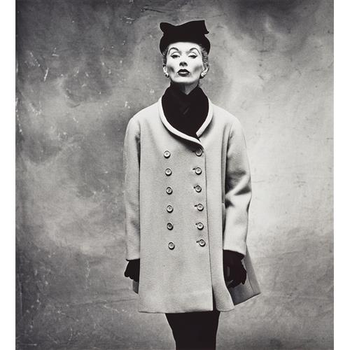IRVING PENN - Balenciaga 'Little Great' Coat (Lisa Fonssagrives-Penn), Paris, 1950