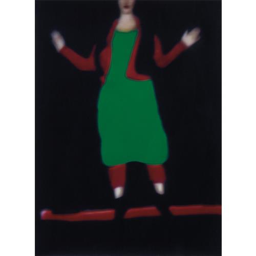 SARAH MOON - Fashion 1, Issey Miyake, 1995