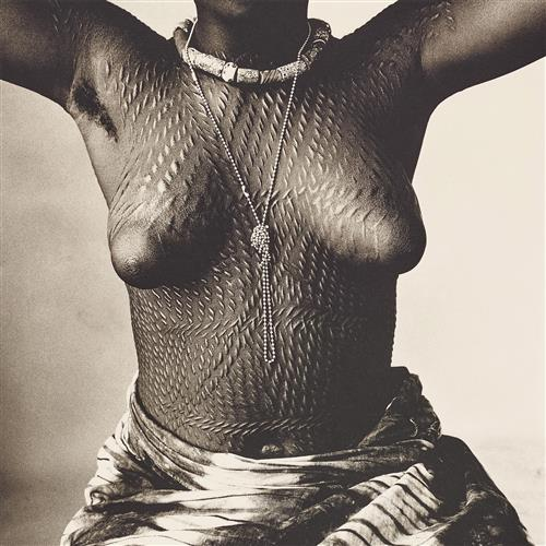 IRVING PENN - Scarred Dahomey Girl, Cameroon, 1967