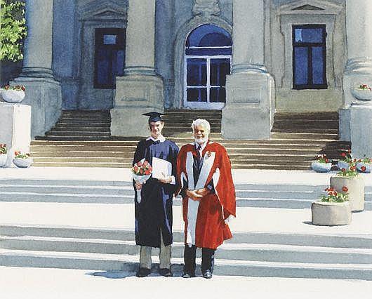 TIM GARDNER Tobi's Graduation, 2001
