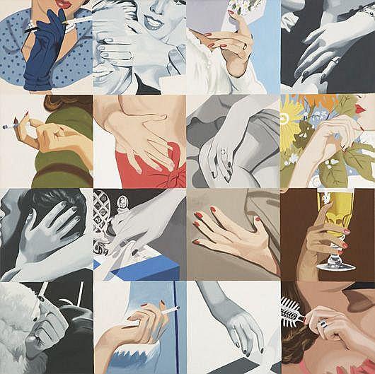 JULIA JACQUETTE Womens' Hands (Hair Brush), 2001