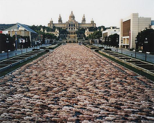 SPENCER TUNICK Barcelona I (Institut de Cultura)