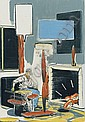 NEO RAUCH  Kamin (Fireplace), 2000, Neo Rauch, Click for value