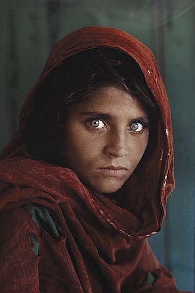 Afghan Girl, 1985