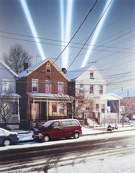 Searchlights (from Illiluminations), 2005