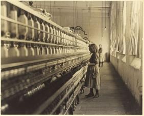 LEWIS HINE (American, 1874-1940) GIRL WORK...