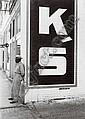 RUDY BURCKHARDT (Swiss, 1914- 1999) K'S signed