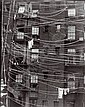 RALPH STEINER (American, 1899-1986) CLOTHESLINE CROSSING signed and dated