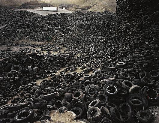 Oxford Tire Pile #1, Westley, California, 1999