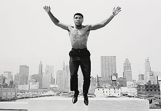 Ali Jumping, Chicago, 1966