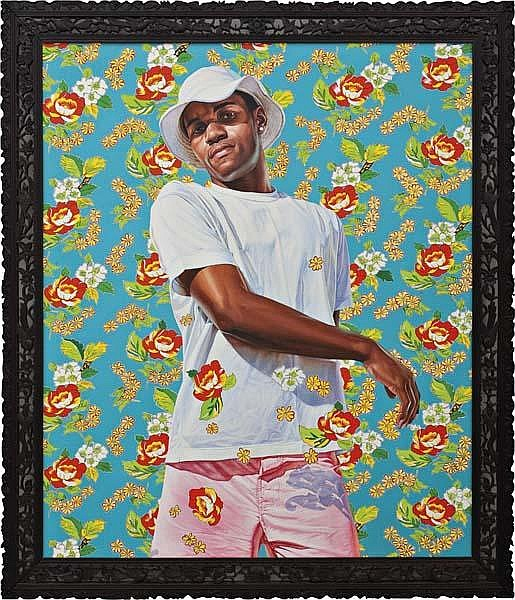 Kehinde Wiley Works on Sale at Auction & Biography