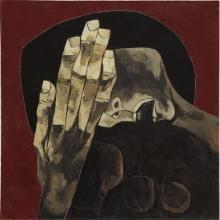 OSWALDO GUAYASAMÍN - Mujer llorando