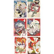 FRANK STELLA - Waves I and II: six works, 1989