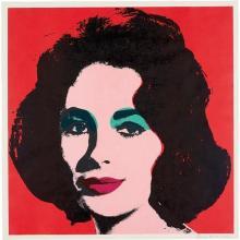 ANDY WARHOL - Liz, 1964