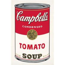 ANDY WARHOL - Tomato Soup, from Campbell's Soup I, 1968